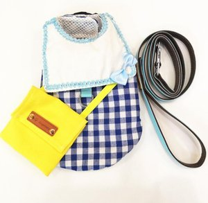 With snack bag pet clothes dog traction clothing designer pet supplies free shipping ts61