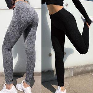 Sexcer transparente taille haute Yoga Leggings Collants femmes entraînement Dot Respirant Fitness Vêtements Femme Pantalons Élastique formation