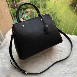 hot sold luxurys Designer Handtaschen Portemonnaie MONTIGNE Beutel-Frauen Tote Marke Brief Embossing echtes Leder Schultertasche Umhängetasche