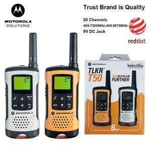 Walkie Talkie Motorola Tlkr T50 TalkieMet 20 Kanalen 6Km Afstand Outdoor Ondersteuning Batterij & Ni-Mh Batterij1