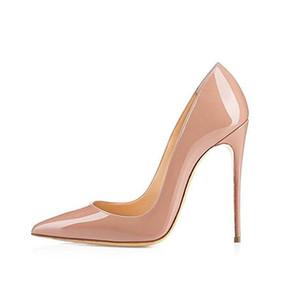 사용자 정의 뾰족한 발가락 럭셔리 파티 스틸 레토 여성 높은 뒤꿈치 신발 개인 상표 고급 드레스 높은 뒤꿈치 신발 새로운 스타일의 팜므 공상