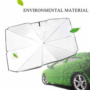 Araba Sunshade Cam Gölgelendirme Mat Araba İç Şemsiye Tipi Gümüş Titanyum Güneş Kremi Yalıtım Cloth1