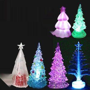 w21ra acrílico colorido s presente criativo crystal flash de árvore árvore de natal colorido presente sCrystal natal criativo BtL7w