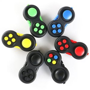 Didget Pad Controller Cube Сенсорная бесшумная головоломка игра Fidget игрушки Установите стресс с облегчением и угрожающую депрессию для ADHD Autism