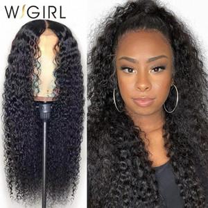 Wigirl Malaisie Remy 13x4 Lace Front perruques de cheveux humains 28 30 pouces vague profonde de longue perruque Frontal pour les femmes noires 4MS9 #