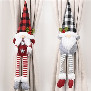 Christmas decorations forest old man curtain buckle faceless doll European curtain tie rope creative door hanging T3I51317