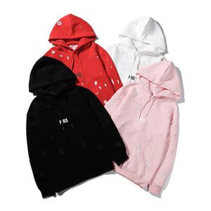 Luxury Mens Hoodies Men Designer Hoodie Sweatshirts Men Women Hoodies Hip Hop Pullover Streetwear Long Sleeve Size S-XL 4 Colors