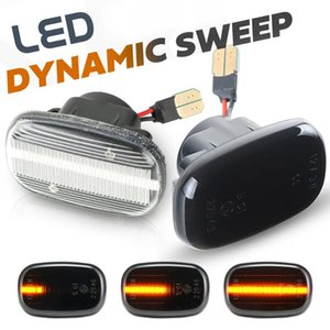 2pcs Led Dynamic Side Marker Turn Signal Lights for RX 300 330 350 400h MCU3 GSU3 MHU3 MCU15 RX XU1 GS 300 JSZ147 3W