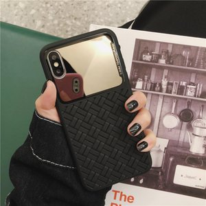 Preparation Of Grain Makeup Mirror Translucent Cell Phone Case for Iphones Cover Accessories for Mobile Phones