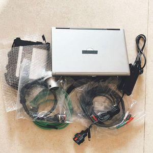 OBD2 Scanner 2020.09V MB STAR SD C4 Compact 4 SSD em D630 Laptop 4G Diagnóstico computador trabalho para MB SD C4 CARCHS
