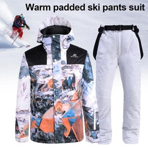 2020 New Men Women Ski Suit Windproof Waterproof Thicken Warm Snow Coat Winter Skiing And Snowboarding Jacket and Pants Set