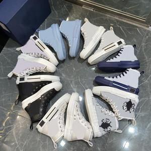 2021 New Limited Lienzo Shoes Edition Personalizado Amantes Impresas Candajes de lona Zapatos altos con caja de embalaje original Entrega 35-46