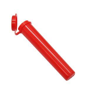 Prerolls vazios dos tubos de plástico pré-rolos do dankwood pré-rolos com tampa 95 * 17mm seco erval contêiner o tubo de embalagem do carrinho de vapein adesivo