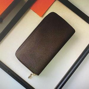 Кошелек на молнию Сумка Женского дизайнера кошелек кошелек мода карта держатель M61723 бумажник женщины Карманная Длинные Женщины сумка с коробкой