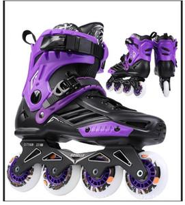 Skates en ligne Skates Chaussures Chaussures Hockey Femmes Hommes Rouleaux Skates Adultes Rouleaux de patinage professionnel Rouleaux Patins