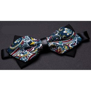 SHIERXI Mens bow tie printing neck ties Rose floral wedding Parties bowtie noeud papillon homme mariage shirt Accessories