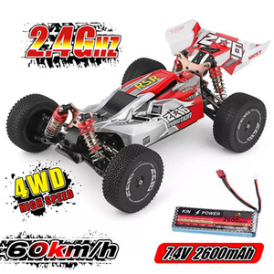 WLtoys 1 14 144001 RTR 2.4GHz RC Car Scale Drift Racing Car 4WD Metal Chassis Hydraulic Shock Absober Off-Road Vehicle