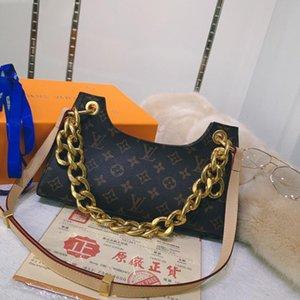 New Riefsaw Mulheres ombro Sacos de couro clássico de alta qualidade Vintage Cadeia Messenger Bag Mão Womens Bandoleira Sacos Com Origem Box