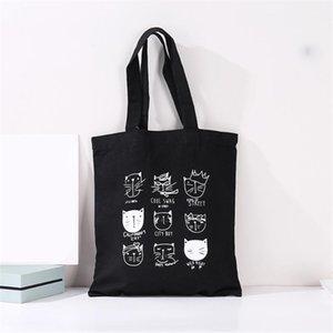 Fashion Canvas Bags girl Reusable High capacity Shopping Bag