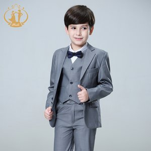 Nimble Suit for Boy Terno Infantil Boys Suits for Weddings Costume Enfant Garcon Mariage Disfraz Infantil Boy Suits Formal 3pcs LJ200814