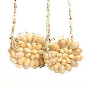 Conch Girls Coin Purse Handmade Bbyrvi 쥬얼리 지갑 휴대용 어깨 가방 메신저 가방 쉘 선물 쉘 공예 H 키즈 BNMDG