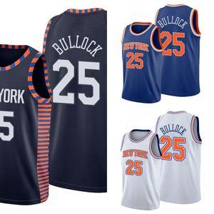 Nova yorkKnicksHomens Reggie Bullock Basketball Jersey