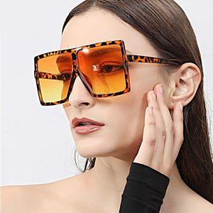 Vintage Big Square Sunglasses Women Mens Goggles Oversize Sun Glasses Female Fashion Black Eyewear Gafas De Sol