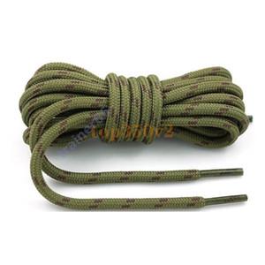 2021 Nuove ShoeLace Unisex Corde Multicolor cerata cordone rotondo vestito scarpe lacci fai da te alta qualità solido 100-150 cm laccio colorato