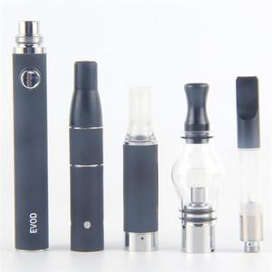 Vape Dab Pens eVod Vaporizer 4 in 1 Starter Kits Dry Herb Wax Oil Vapes 510 Thread USB Passthrough CE3 Cartridges Kit DHL