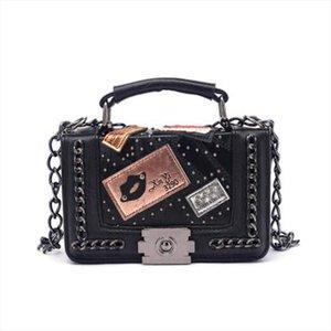 Women Top handle Bags Women Handbags 2020 Brand Designer Crossbody Bag For Rivet Sac Small Bags for X601