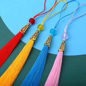 5 pcs Moda Poliéster Beads Tassel DIY Jóias Garments Cortinas Home Têxtil Decorativa Pingente Decoração Borlas Lacfringe Trim H WMTAKF