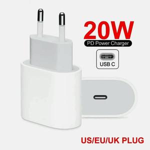 20W 전력 배달 빠른 USB 벽 충전기 PD 충전기 어댑터 유형 -C 충전기 US EU 플러그 삼성 화웨이, ETC Smartphon 용 빠른 충전 케이블
