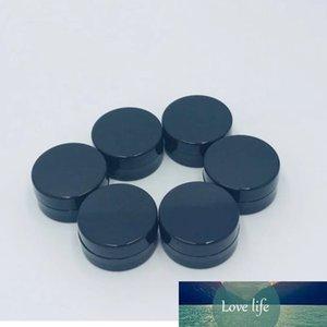 Ücretsiz kargo 1g Boş krem kavanoz Beyaz, Siyah Küçük örnek DIY kozmetik ambalaj kabı teneke kutular