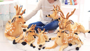 50 CM Giraffe With Scarf Plush Dolls Baby Gift Girls Toys Brithday Gift And Home Decoration