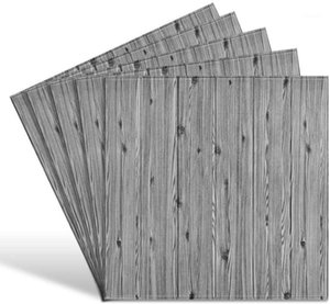 3D Wall Panels Peel and Stick Wall Panels for Interior Decor Self-Adhesive Foam Tiles Wood for TV Background Walls Bed1