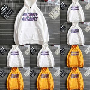 QPJHI INS Brand Manteaux de mode Hommes et Femmes Street Bfwind Capuchon Harajuku manteau Sweatersweater Pull coréen Ulzzang Étudiant SUP