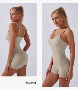 Women Sexy sleeveless Gym suit wear Yoga Fitness Workout Running Jumpsuit Solid Jumpsuits for Women Sleeveless Rompers Womens pants