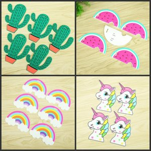 Silicone Travel Bag Labels Holder Cartoon Creative Pvc Unicorn Cacti Luggage Tag Suitcase Accessories Many Styles 1zx U