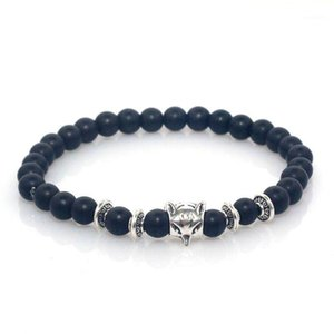 6 mm Stone Beads Stretch Natural Stone Charm Bracelet for Women1