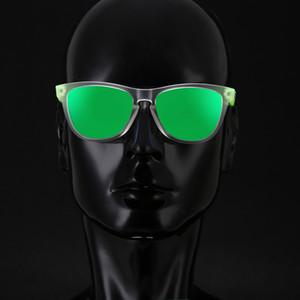 Kdeam Tendência-ajuste TR90 Homens óculos polarizados Wide-range Cores Sun Glasses Esporte Luxo Unissex Quadro com coleção Box