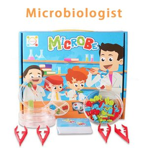 Lab Board Games Toys Microbes Mad Scientists Science and Technology Small Making Children's Educational