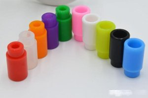 Top 510 Colorful Silicone Drip Tips Disposable Rubber Universal thread Test dripper Individually pack RDA RBA ego atomizer tank Mouthpieces