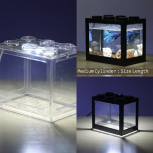 IC3WV Sticker ve Sebze Boyama Baskılar Aqrium Lego Blokları Balık Tankı Manzara Poster Tankı Akvaryum Arka Plan Işık Balık Işık Kurşun