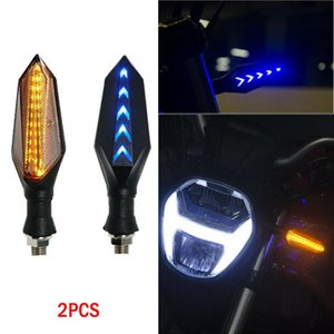 WUPP Car Headlight Bulbs(LED) hot sale Motorcycle 17LED Turn Signals Indicator Light Universal Two Side Sequential Flow 9619