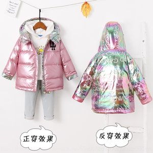ghhB hooded top quality designer monclair Kids clothing real fur jackets coats warm Kids 5a fashion casual outdoor down puffer jacket winter