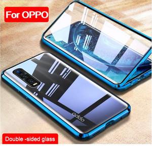 Cas magnétique en verre trempé double côté pour OPPO Realme 6i 5i 6 5 PRO C3 C11 C15 XT K5 WMTSRH