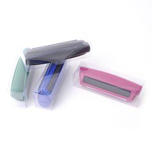 Taşınabilir Sigara Haddeleme Makinesi 78 / 110mm Ortak Koni Rulo Manuel Maker Aracı Plastik Manuel Tütün Makinesi Sigara Cihazı VTKY2115