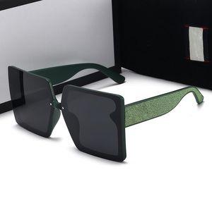 Las gafas de sol de 2021 diseñador son la caja de la más alta calidad para las gafas cuadradas de verano de moda y de los hombres en cinco estilos.