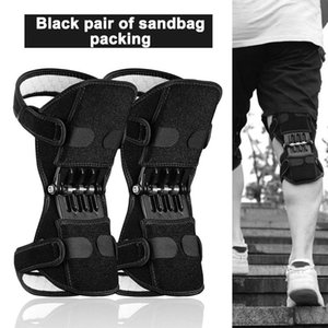 Knee Protector Joint Support Knee Pads Breathable Non-Slip Power Lift Pads Rebound Spring Force Leg Protector