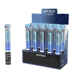 Hava Bar Lux Tek Kullanımlık 2.7ml Kartuş 1000 Puffs Airbar Cihazı 500 mAh Pil Prefice Vape Pod JK Stick E Sigaralar için 12Options